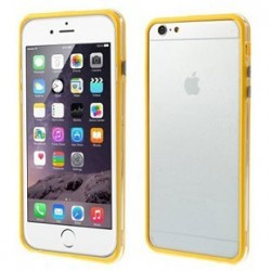 Custodia per iPhone 6s Plus, 6 Plus 5.5 trasp/yellow