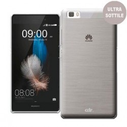 Custodia compatibile ultra slim Huawei P8 Lite white