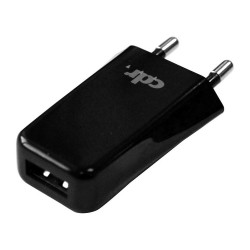 Caricabatterie rete Cdr 1A (compatibile) black