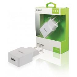 Caricabatterie rete Sweex 2.1A (compatibile) white