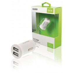 Caricabatterie auto Swwex 2.4A (compatibile) white
