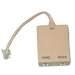 Filtro ADSL plug