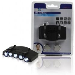 Torcia LED a clip per cappellino HQ TORCHL791