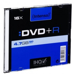 DVD+R 4,7Gb Slim Intenso