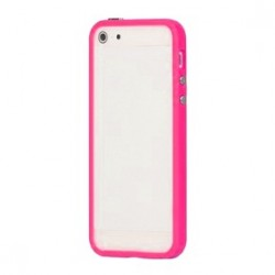 Custodia per iPhone 5, 5S, Pink