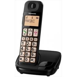 Cordless Panasonic KXTGE110JTB black