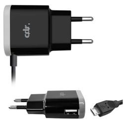 Caricabatterie da rete STC0036BG 2.1A (compatibile) black