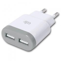 Caricabatterie rete Cdr 2.1A (compatibile) white
