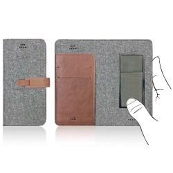 Custodia Cdr universale Cdr 14,3 x 7,0 x 1,1 cm grey
