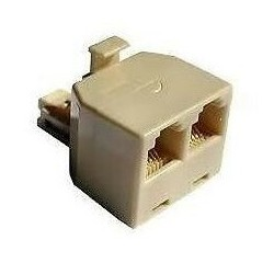 Sdoppiatore telefonico plug 4 pin