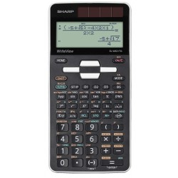 Calcolatrice Sharp ELW531TG white