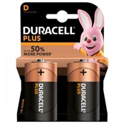 Batterie Duracell Torcia Plus D (conf. 2pz)