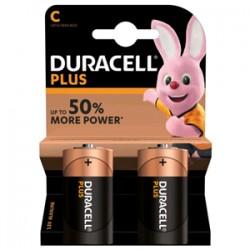 Batterie Duracell 1/2 Torcia Plus C (conf. 2pz)