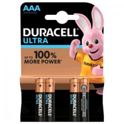 Batterie Duracell Ministilo Ultra AAA (conf. 4pz)
