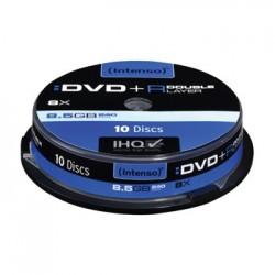 Campana DVD+R Dual-Layer Intenso 10pz